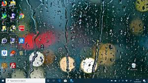 rain in the city and other wallpaper