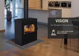 double sided stove supreme foyers