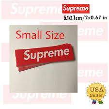 Graphics Decals Supreme Box Logo Red Sticker Vinyl Decal Skateboard Original Nyc Bumper Laptop Parts Accessories Cub Co Jp