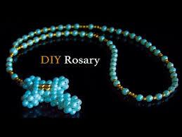 diy beaded rosary making beads art