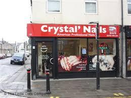 crystal nails similar nearby