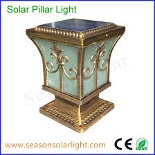 China High Lumen Led Decorative Light Solar Fence Post Cap Light For Outdoor Lighting China Solar Fence Post Cap Light Solar Light