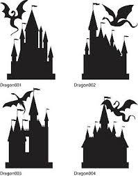 Story Book Dragon Castle Wall Decal Vinyl Sticker Wall Window Vehicle Display Ebay