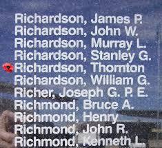 Thornton Edward Richardson - The Canadian Virtual War Memorial - Veterans  Affairs Canada