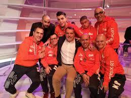 I ragazzi dell'Olimpia Onlus ospiti di Paolo Bonolis