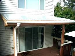 porch roof styles metal covers ideas