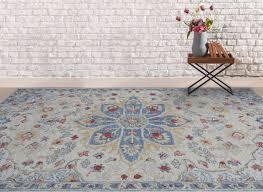 amer rugs radiant cream blue yellow