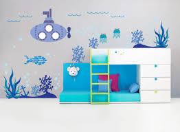 Walplus Mural Decal Paper Art Decoration Sea Super Ocean World Fish Kids Room Children Submarine Wall Stickers Buy Wall Sticker Nursery Wall Sticker Kid Wall Sticker Product On Alibaba Com