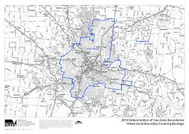 Detailed maps of metro and urban zones ...