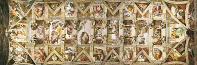 Clementoni 31451 Michelangelo - Volta Cappella Sistina Panorama: Amazon.it:  Michelangelo Buonarroti: Libri in altre lingue