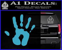 Handprint Decal Sticker A1 Decals