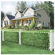 Garden Decors Depot Ecoopts Artificial Ivy Leaf Expandable Stretchable Privacy Fence Screen Single Side Leaves And Vine Decoration For Outdoor Garden Yard 3 Pack