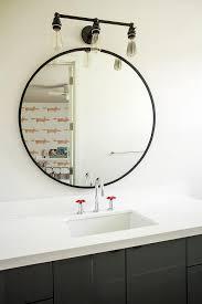 matt black bathroom mirror wall mount
