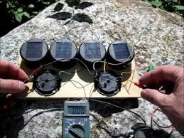 diy solar garden light solar