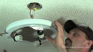 how to replace a ceiling light fixture