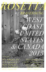 ROSETTA Confirm West Coast Tour with Braveyoung