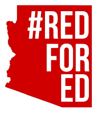 Rfe002 Red For Ed Solid Arizona Redfored Die Cut Vinyl Graphic Decal Sticker 5