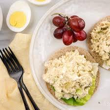 Tuna Egg Salad - Slender Kitchen
