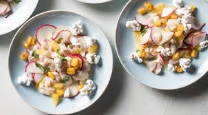 Peruvian Fish Ceviche with Radishes and ...