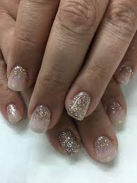 Opi Bubble Bath Light Elegance Champagne Glitter Gel Nails