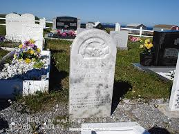 Newfoundland's Grand Banks Genealogy Site - Green Island Brook Anglican  Church Cemetery - St. Barbe District