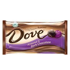dove promises almond dark chocolate
