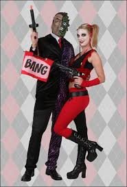 joker and harley quinn couple costumes