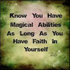 Abilities | Have faith in yourself, Clothes design, Black and ...