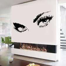 Audrey Hepburn Sexy Eyes Attractive Eye Wall Decal Art Decor Vinyl Sticker Walmart Com Walmart Com