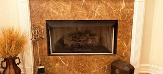 install a marble hearth and wood
