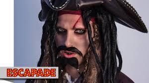 pirate makeup tutorial halloween