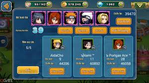 Naruto Đại Chiến: Đội hình thuần Charka - Hướng Dẫn | Cẩm Nang