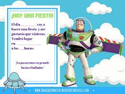 Invitaciones De Toy Story Cumpleanos Y Fiestas Infantiles En