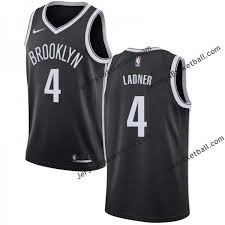 Brooklyn 4 Wendell Ladner Nets Twill Basketball Jersey Free Shipping