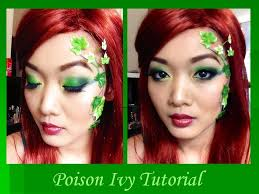 poison ivy makeup tutorial video you