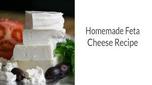 homemade feta cheese you