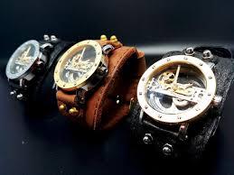 steampunk watch automatic wrist watch