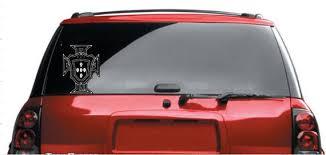 Portuguese Crest Car Decal Etsy