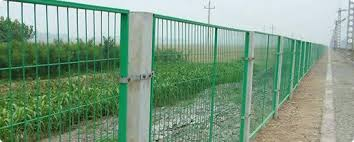 Welded Wire Mesh Fence Series Pvc Welded Fence For Security