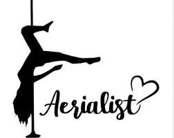 Aerialist Decal Etsy