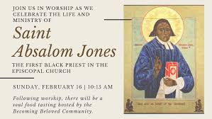 Saint Absalom Jones — The Cathedral Church of St. Peter