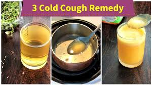 3 cold cough remedy for 1 toddlers