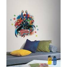 Justice League Movie 3d Smashed Wall Sticker Decal Decor Art Mural Flash J926