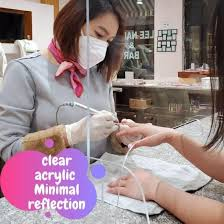 China Table Shield Protection Clear Acrylic Sneeze Screens Guard For Office China Acrylic Sneeze Guard Acrylic Shield