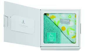 handkerchief gift green sheep