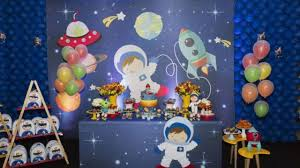 Fiesta Infantil Con Tema De Astronautas 30 Ideas Para Decorar