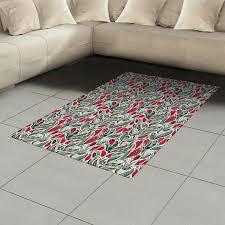 ambesonne retro area rug