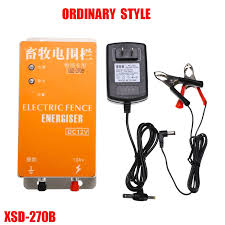 Exclusive High Voltage Electric Fencing Solar Electric Fence Energizer Charger Controller Shopee Philippines