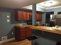 kitchen wall paint ideas with cherry