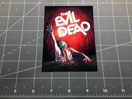 The Evil Dead Movie Logo Vinyl Decal Sticker Ash Williams 1980s 80s 1981 Horror Zombie Film Movie Sold By Kmlgraphics On Storenvy
